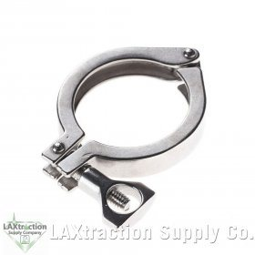 6 R Tri Clamp Clover Stainless Steel Ferrule Spool Clamp HFS