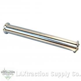 """1.5/"""" x 12/"""" Tri-clamp sanitary spool for Close loop extractor stainless steel 304"""
